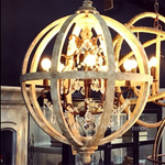 Queens Landing Orb Chandelier