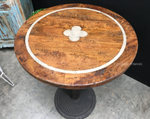 *Cafe Table Tops - Greenwich Round Inlay