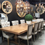 Banquet Size Artisan Parquetry Dining Table