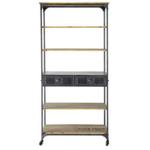 Ragnar 2 Drawer Display Unit / Bookshelf
