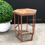 Hex Low Stool / Side Table