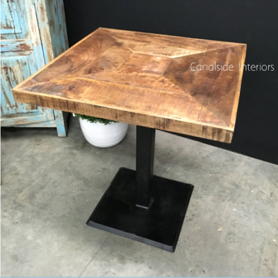 *Emerson Rustic Cafe Table Top U0026 Base