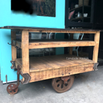 Cartage Industrial Workbench / Island / Cart on Castors