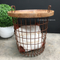 Basketcase Side Table with Storage