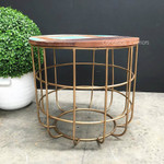 Goldmember Side Table