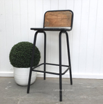 Elementary Bar Stool with Back