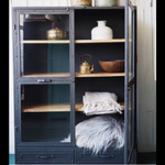 Foundry Canyon Glass Sideboard - see Pinterest
