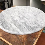 *Cafe Table Top - Carrara Marble - Round