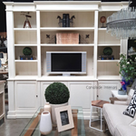 Yates TV Entertainment Wall Unit Library