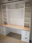 Custom Wall Units - Desk - Mosman