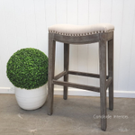 Mila II Upholstered Bar Stool
