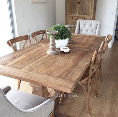 Artisan Dining Table  Image via Nest Styling & Design
