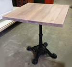 Custom Made Cafe Table Tops