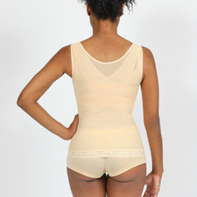 This garment is designed to give abdominal support and reinforce the lower back. This Garment is made a special material excellent for everyday wear.  OUR RESHAPING SOLUTION WHEN WORN Reduces your waist up to 2 sizes Supports the abdomen while smoothing your appearance Supports the back