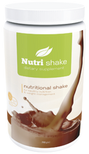NUTRISHAKE CHOCOLATE  Satisfy your Appetite with a rich Protein Drink  NutriShake Chocolate is a perfect performance shake for jump-starting your metabolism, and as meal replacement. Fortified with 26 antioxidants, 9 aminoacids, vitamins, and minerals. Now in Chocolate Flavor!  Our Everyday Health Benefits:  • Helps to support immune function. • 18g of high quality protein. • 9 essential amino acids. • Supports mental alertness. • Helps to reduce the oxidative stress of fat burning. *These statements have not been evaluated by the US Food and Drug Administration. This product is not intended to diagnose, treat, mitigate, cure or prevent any disease.