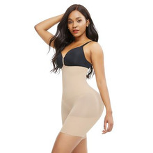 Embrace your curves! This high waist shapewear helps to form your body into a smooth and beautiful silhouette.  The fabric gives you a more comfortable and light feeling to be worn all day long Colette moves with you!.  OUR RESHAPING SOLUTION WHEN WORN • Instant slimming and tummy tucking effect • Booty Lifter • Anti-slip strips to keep everything in place • Made of lightweight, double-layer fabric • Open - crotch • Seamless Legal Disclaimer: Statements regarding our supplements have not been evaluated by the FDA and are not intended to diagnose, treat, cure, or prevent any disease or health condition.