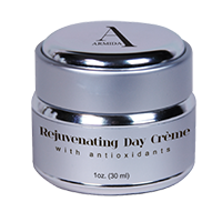 Armida Signature Collection by Ardyss™ Rejuvenating Day Crème - An effective daily treatment for the skin that nourishes without heaviness, to help keep the skin moisturized and healthy throughout the day.  1 oz (30 ml).     For all skin types.     Key Ingredients & Benefits:  u  Squalane - Natural olive derived emollient that delivers moisture to the skin without leaving a greasy residue  u  Schinziophyton Rautanenii Kernel Oil (Mongongo Oil) - A naturally derived oil' Africa that has excellent hydrating, regenerating and restructuring properties  u  Tetraheyldecyl Ascorbate - A stabilized form of Vitamin C; provides excellent antioxidant protection to the skin  u  Phytic Acid - A potent antioxidant that protects the skin' the effects of free radical damage     Ingredients: water, glycereth 26, cetearyl alcohol, caprylic/capric triglyceride, squalane, glycol distearate, cetearyl dimethicone, schinziophyton rautanenii kernel oil, dimethicone, phytic acid, tetrahexyldecyl ascorbate, cyamopsis tetragonoloba (guar) gum, dea-cetyl phosphate, phenoxyethanol, ethylhexylglycerin, fragrance