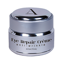 Armida Signature Collection by Ardyss™ Eye Repair Crème - A state of the art formulation that provides ultimate treatment for the delicate area of skin around the eyes. Anti-wrinkle formula. 0.5 oz (15 ml).     For all skin types.     Key Ingredients & Benefits:  u  Squalane - Natural olive derived emollient that delivers moisture to the skin without leaving a greasy residue  u  Ptychopetalum Olaciodes Bark/Stem Extract and Pfaffia Paniculata Root Extract - Clinically tested raw ingredients that help to reduces bags and puffiness around the eyes  u  Palmitoyl Oligopeptide/Palmitoy Tetrapeptide-7 - Clinically tested peptides that have been proven to help minimize the appearance of fine lines and wrinkles  u  Phytic Acid - A potent antioxidant that protects the skin' the effects of free radical damage.  u  Astrocaryum Murumuru Seed Butter - A naturally derived emollient that nourishes and protects the skin; provides a protectant hydrating barrier  u  Tocophery Acetate - Antioxidant Vitamin E.  u  Coffee Seed Oil - Provides antioxidant protection and soothing aromatherapy     Ingredients: water, cetearyl alcohol, glycereth 26, glyceryl stearate, cetearyl dimethicone, dimethicone, caprylic/capric triglyceride, squalane , coffea arabica (coffee) seed oil, glycerin , palmitoyl-oligopeptide, palmitoyl tetrapeptide-7, phytic acid, ptychopetalum olaciodes bark/stem extract, pfaffia paniculata root extract, lilium candidum flower extract, astrocaryum murumuru seed butter, peg-40 hydrogenated castor oil, tocopheryl acetate , polysorbate 20 , cyamopsis tetragonoloba (guar) gum, dea-cetyl phosphate, butylene glycol, carbomer, phenoxyethanol, ethylhexylglycerin, fragrance