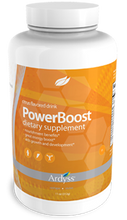 POWER BOOST  Increase your Performance  Get going with our great tasting energy drink.  This delicious citrus flavored drink contains a high amount of L-Arginine, which promotes vitality, muscle strength, boosts energy, is a source of antioxidants, and reduces oxidative damage, a major factor in the aging process.  Our Everyday Health Benefits:  • Great energy boost. • Aid growth and development. • Provides Antioxidants. • Reduces oxidative damage. *These statements have not been evaluated by the US Food and Drug Administration. This product is not intended to diagnose, treat, mitigate, cure or prevent any disease.