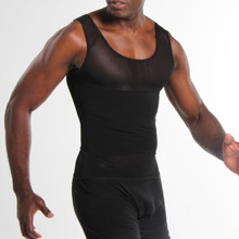 Everyday Abdomen Support! This men's reshaper is designed to give you firm abdominal support and to reinforce the lower back. This shirt can reduce the appearance of the waist up to 2 sizes and helps to give you a fitter look.  OUR RESHAPING SOLUTION WHEN WORN Reinforces and compresses for a fitter appearance Provides immediate aesthetic results Reduces your waist up to 2 sizes Helps support the back
