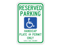 "18"" x 12"" - Arizona, R07-08AZ Reserved Parking"