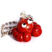 Happy Crab Necklace