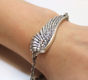 Touched by an Angel Wing Bracelet by Arete