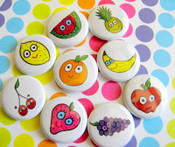 Fruity Kawaii Magnets