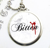 Bitten Vampire Necklace