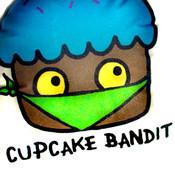 Cupcake Bandit Plushie - Handmade!