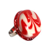 Candy Swirl Adjustable Ring