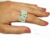 Jade Blossoms Ring