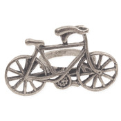 Silver Metal Bicycle Ring