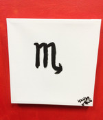Scorpio Canvas Wall Art