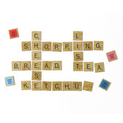 Scrabble Tile Refridgerator Magnets