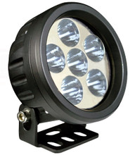"3.5"" Round 18 Watt LED Work Light Flood 60°"