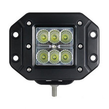 "Flush Mount 3"" Square 18 Watt LED Light Spot Beam"