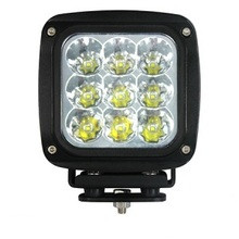 "4.5"" Square Heavy Duty 45 Watt LED Work Light Spot Beam"