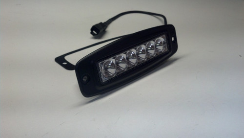 "Flush Mount 6"" Mini 18 Watt LED Light Bar Spot Beam"