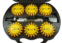 Instant Rebate saleprice Pro Light LED Safety Flare (Amber) 6 Pack W/ Rechargeable Case and Charger