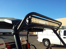 "Polaris RZR 1000 30"" Double Row Light Bar Cage Mount"
