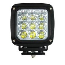 90 Watt Rectangular Heavy Duty LED Work Light Spot Beam