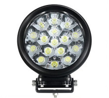 "6"" Round Heavy Duty 80 Watt LED Work Light Spot Beam"