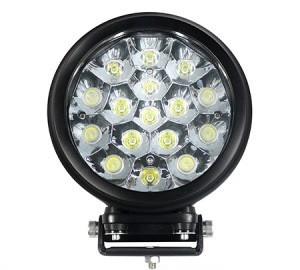 "6"" Round Heavy Duty 80 Watt LED Work Light Spot Beam"