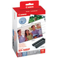 Canon KP-108IN colour ink cartridges and photo paper kit