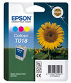 Epson ORIGINAL T018 Colour Ink Cartridge