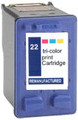 Compatible HP 22  Ink Cartridge Triple Fill 15ml