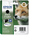 Genuine Black Epson T1281 Ink Cartridge - (C13T12814010) FOX