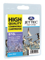 Jettec Compatible LC970 Cyan ink (premium quality)