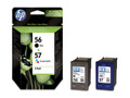 HP 56 BLACK AND 57 COLOUR COMBO PACK (SA342AE)
